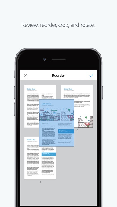 Adobe Scan: PDF Scanner, Documents, Receipts Screenshot 2