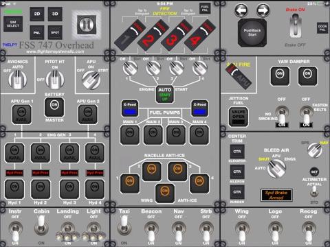 FSS 747 Overhead screenshot 3