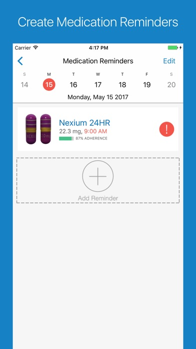Screenshot 3 for WebMD's iPhone app'
