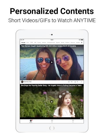 BuzzVideo - Videos, TV shows screenshot 1