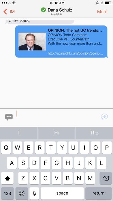 Bria Stretto - VoIP SoftphoneСкриншоты 5