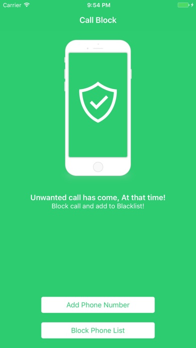 Block unwanted phone calls - phone blocker jammer pro