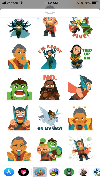 Marvel Stickers review screenshots