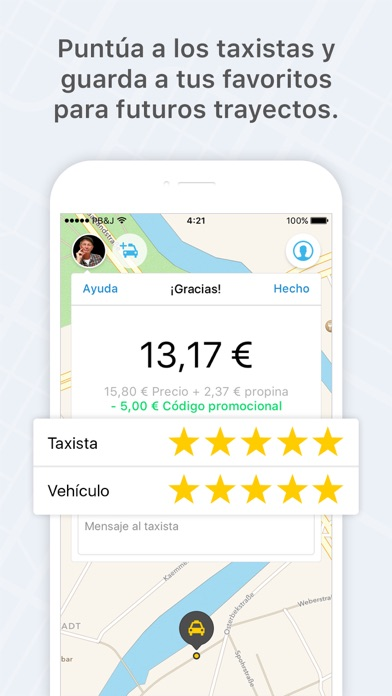 download mytaxi - La Taxi App apps 4
