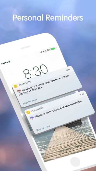 Complete to do list and tasks Screenshots