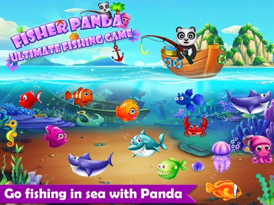 App shopper fisher panda best fishing game games for Best fishing game app