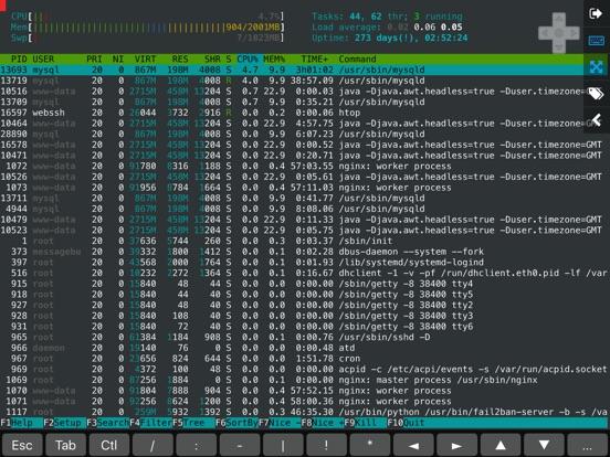 WebSSH Essential Screenshots