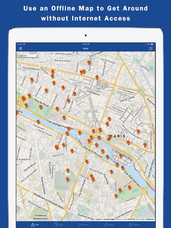 World City Guides & Maps Screenshots