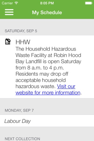 St. John's Waste and Recycling screenshot 3