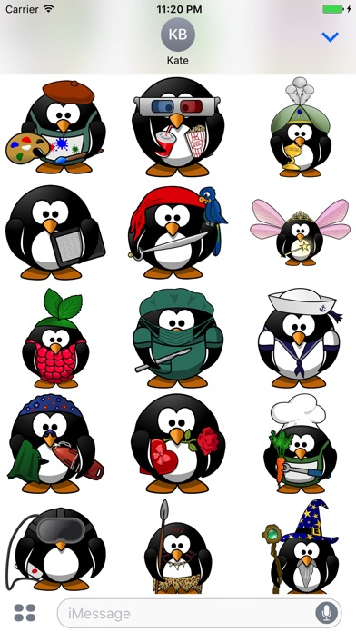 Sticker Fun With Penguins review screenshots