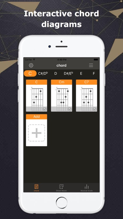 Pocket chord - Guitar Chords & Scale by Zongping Zhang