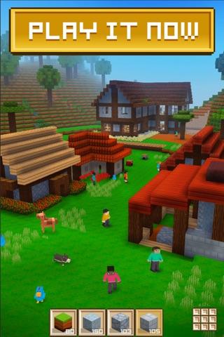 Block Craft 3D: City Building screenshot 1
