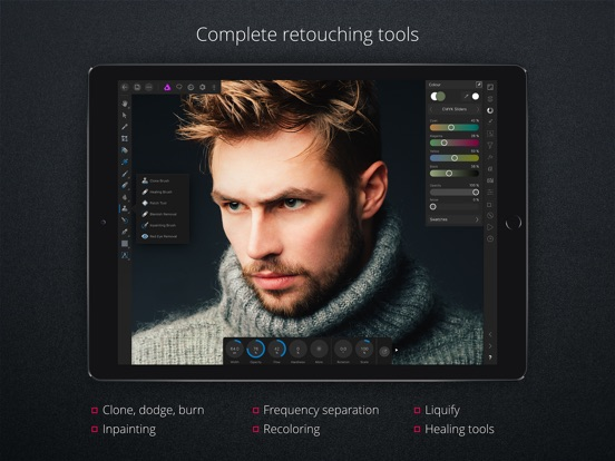 App Store Screenshot of Affinity Photo