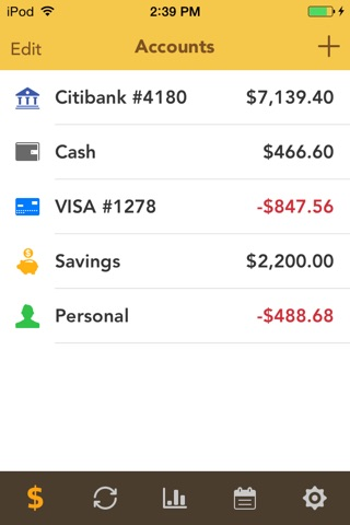 Checkbook Pro screenshot 1