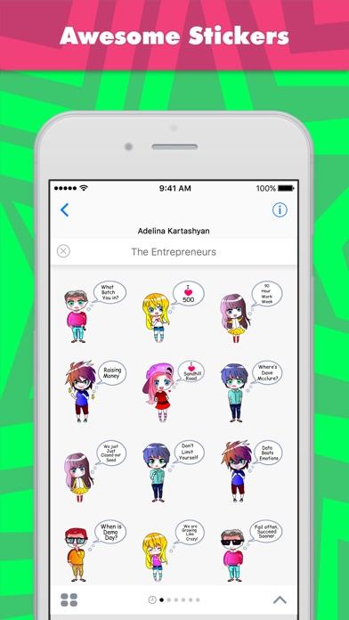 Screenshot of Sticker The Entrepreneurs di Ada1