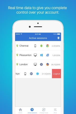 Zoho OneAuth screenshot 3