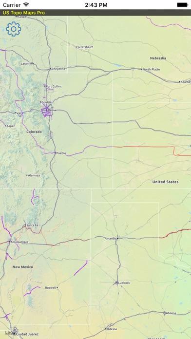 US Topo Maps Pro En App Store - Us topo maps pro