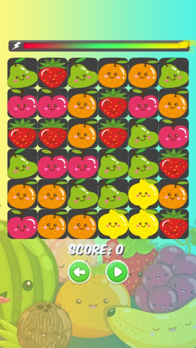 Fruit Match 3 - Puzzle Game screenshot 2