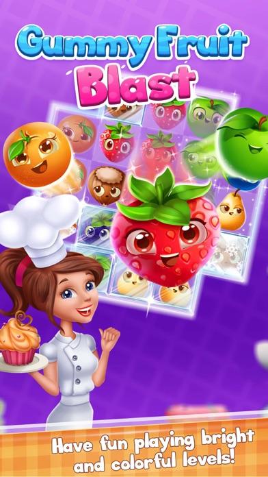 Gummy Fruit Blast screenshot 1