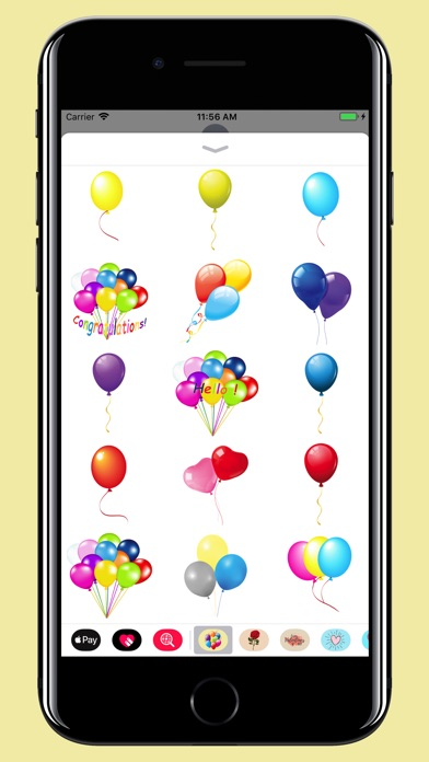 download Balloons Stickers - For party apps 3