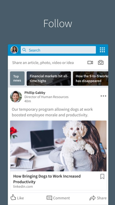 download LinkedIn apps 4