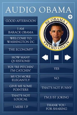 Audio Obama - soundboard screenshot 2