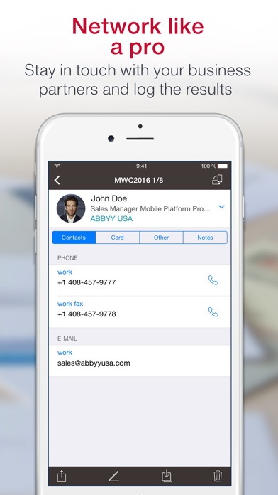 download Business Card Scanner appstore review