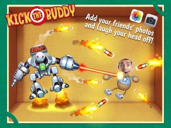 Kick the Buddy Скриншоты9