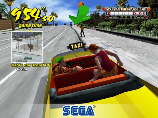 Screenshot #3 for Crazy Taxi Classic
