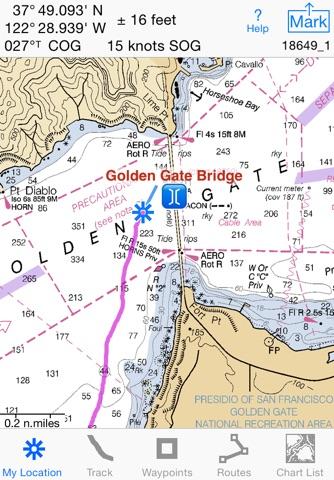 i Sail GPS : NOAA Charts screenshot 1