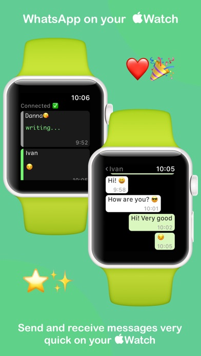 WatchMessenger for WhatsApp screenshot 1