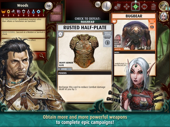 Pathfinder Adventures: a Roleplaying Card Game Screenshot