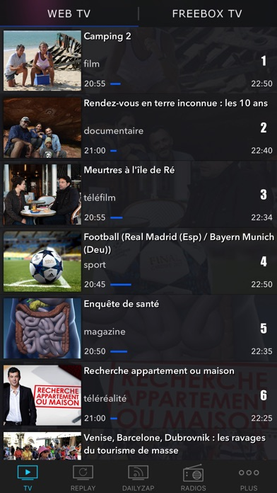 download TV Direct, Programme TV et Replay TV apps 3