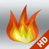 Camino HD: fuoco rilassante e romantico