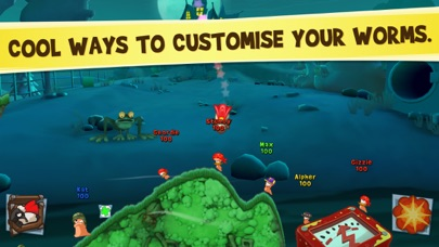 Worms3 screenshot 5