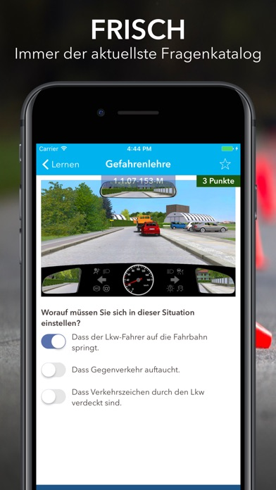 iTheorie Führerschein Premium Screenshots