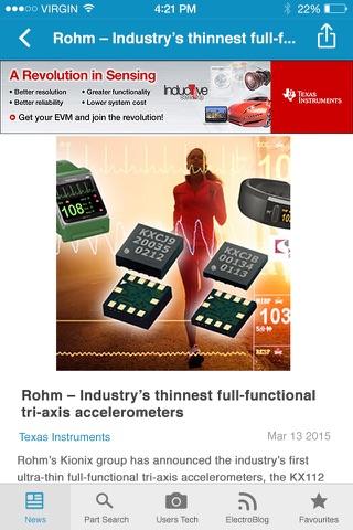 Electronics News screenshot 3