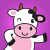 download Cute Dairy Cow Stickers