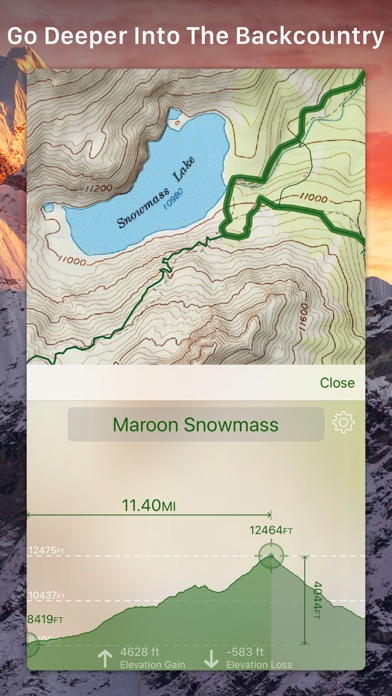 Topo Maps On The App Store - How to increase cache size us topo maps pro