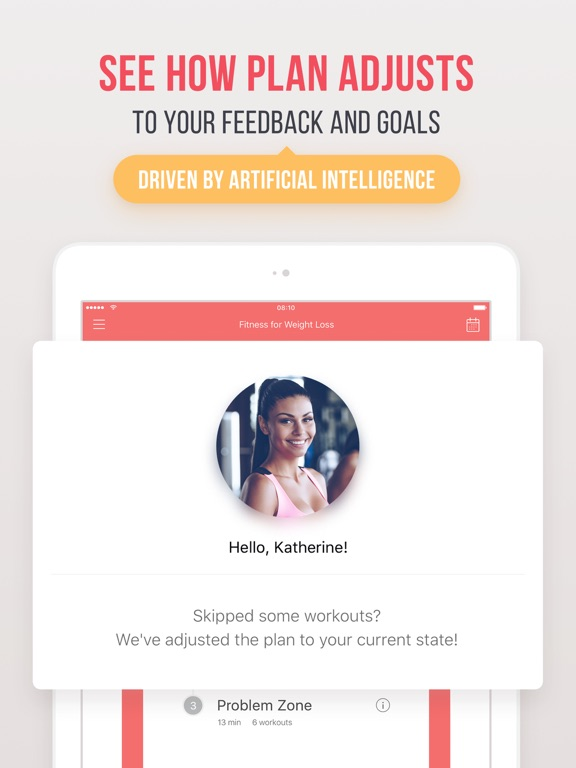 Screenshots of Weight Loss Fitness for iPad