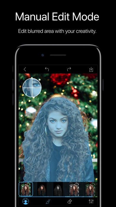 Phocus: Portrait mode editor 앱스토어 스크린샷