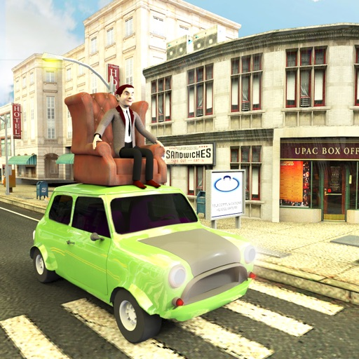Mr Pean Roof Ride Car Driving