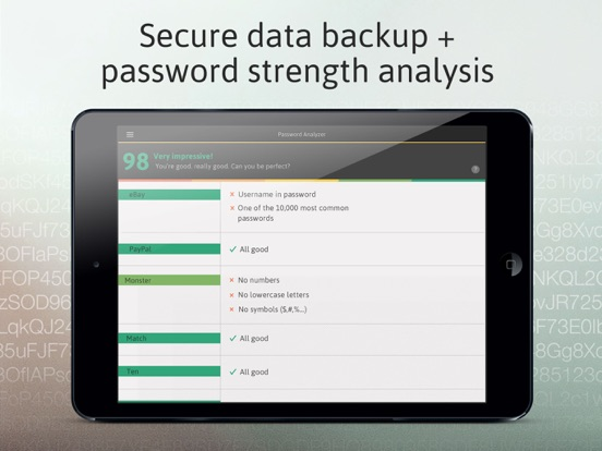 Password Manager: Passible Screenshots