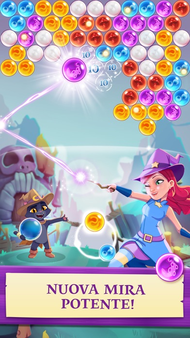 Screenshot of Bubble Witch 3 Saga1