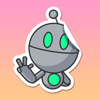 download Robert the Robot Stickers