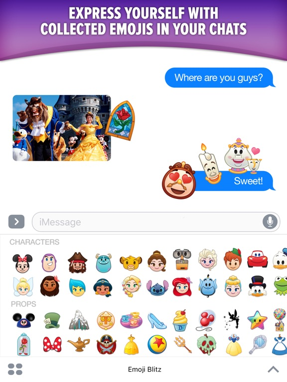 Screenshot #2 for Disney Emoji Blitz with Pixar