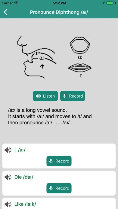 English Pronunciation Practice screenshot 4