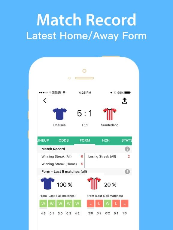 Football bee League Live Score Скриншоты9