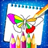 Butterfly Color Finger Paint