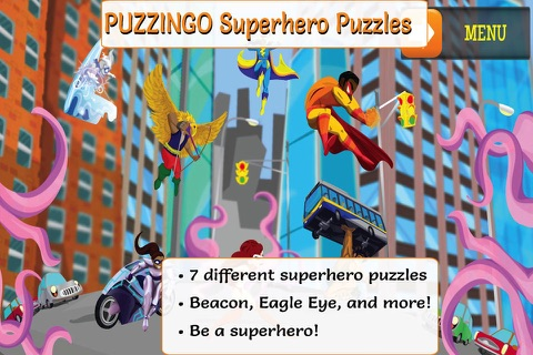 PUZZINGO Superhero Puzzles screenshot 1